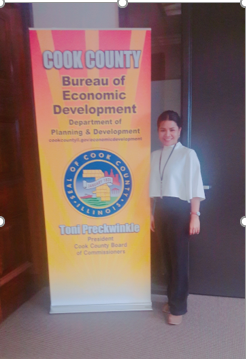 TH Garn at Cook County Bureau of Economic Development